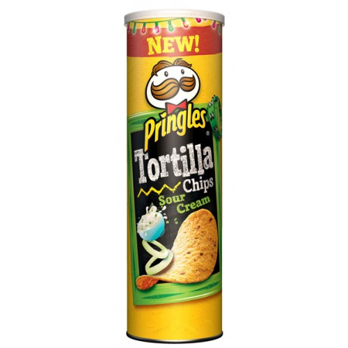 PRINGLES TORTILLA CREAM 160GR