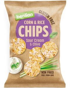 BENLIAN CHIPS SOUR CREAM CHIVE 50G