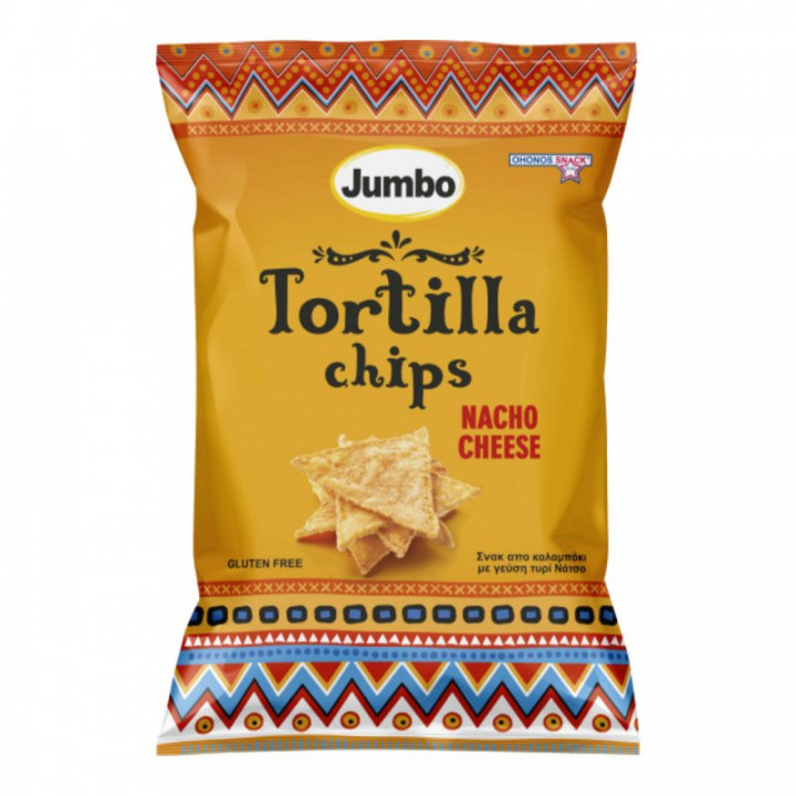 JUMBO TORTILLA CHIPS CHEESE  200GR