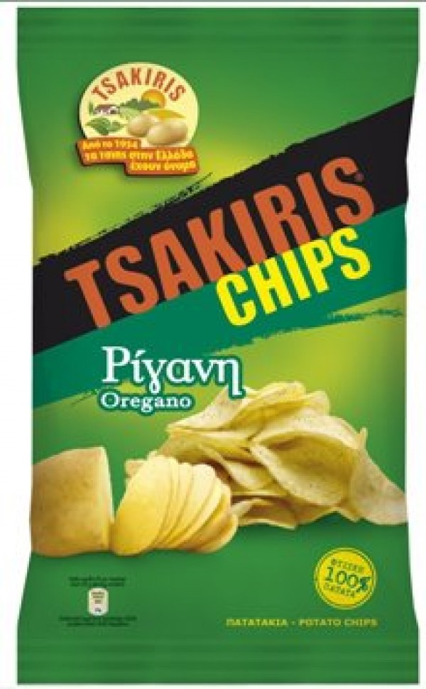 TSAKIRIS CHIPS OREGANO 72G
