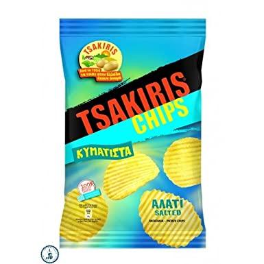 TSAKIRIS SALT WAVY 100G