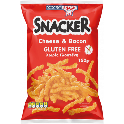 JUMBO SNACKERS CHEESE BACON 150G