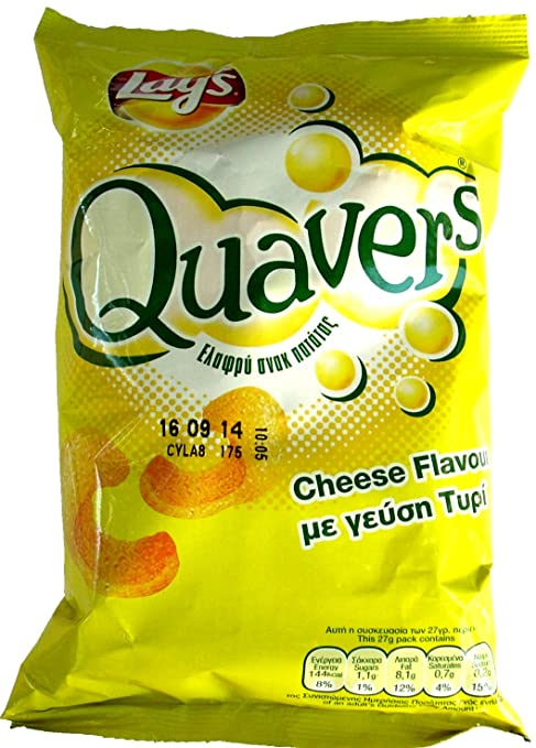 LAYS QUAVERS CHEESE 27G
