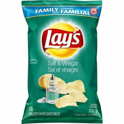 LAYS SALT&VINEGAR 180GR