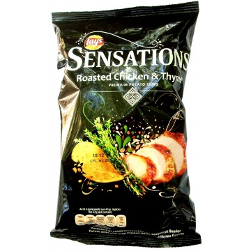 LAYS SENS ROASTED CHICKEN 145G