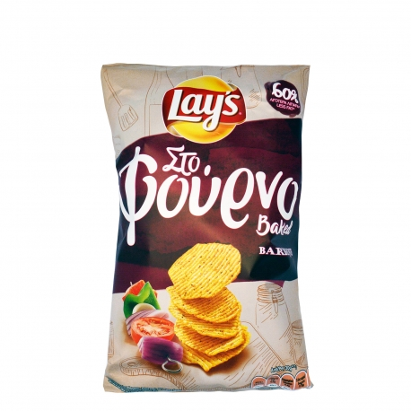 LAYS STO FOURNO BARBEQUE 125G