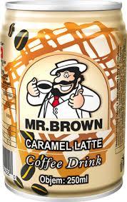 MR BROWN CARAMEL LATTE
