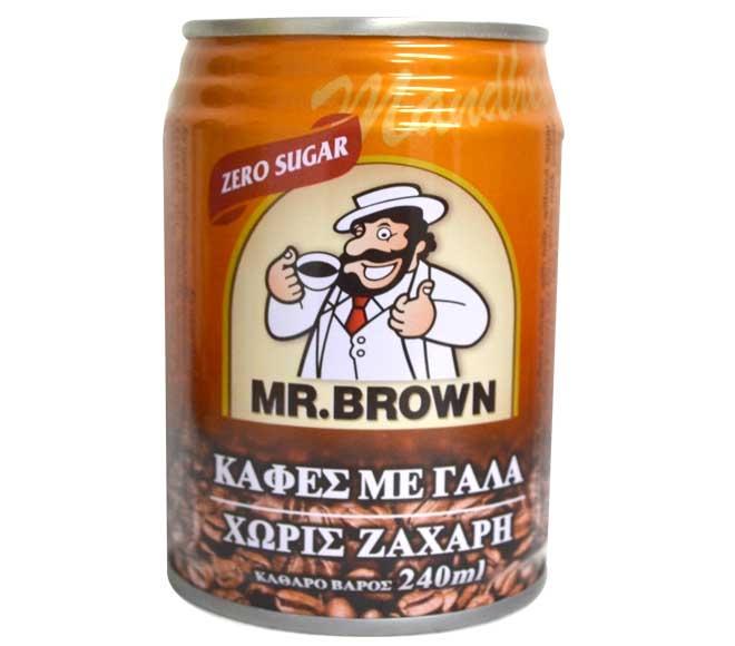 MR. BROWN 250ML - Coffee with milk & no sugar