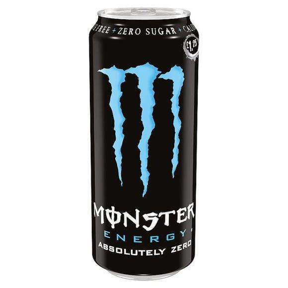 MONSTER ENERGY 500ML - Absolutely Zero