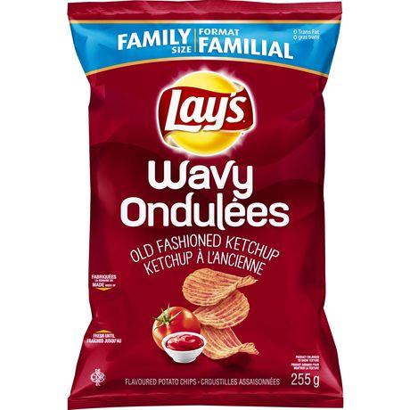LAYS WAVY 47GR - Ketchup