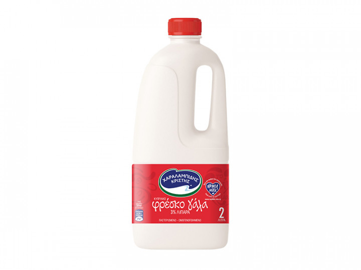 Charalambides Milk 3% Fat - 1L