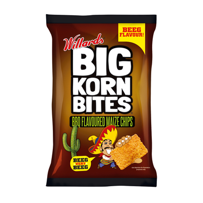 WILLARDS BIG KORN BITES 120G