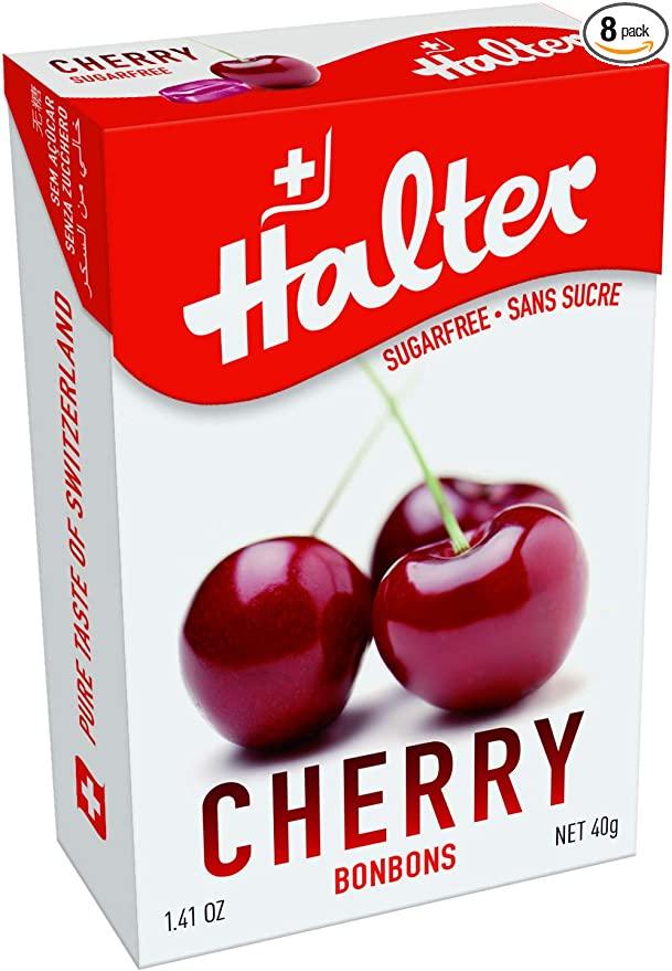 HALTER  SUGAR FREE 40G - Cherry