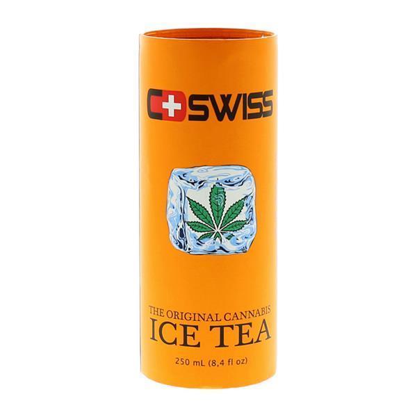 SWISS CANNABIS ICE TEA 250ML