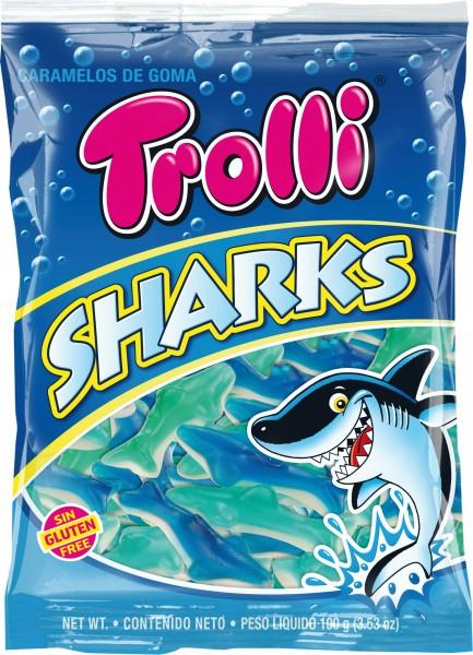 TROLLI CANDY 100G - Sharks