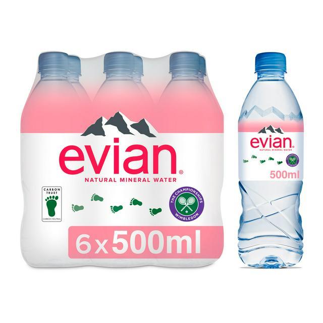 EVIAN WATER 1 X 6 X 500ML