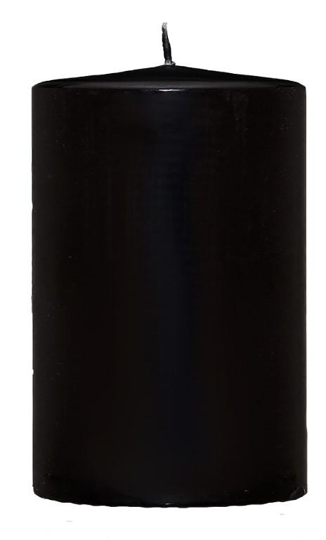 VILLAVERDE CANDLES 48/80MM BLACK