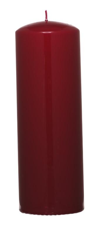 VILLAVERDE CANDLES 68/200MM BORDEAUX