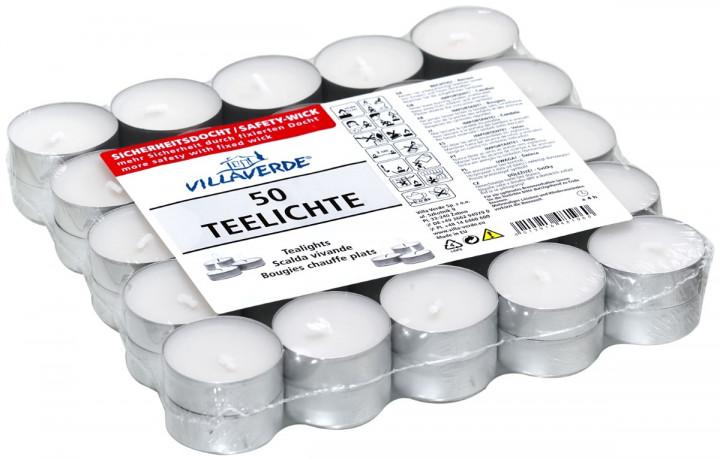 VILLAVERDE TEA LIGHT TIN X50