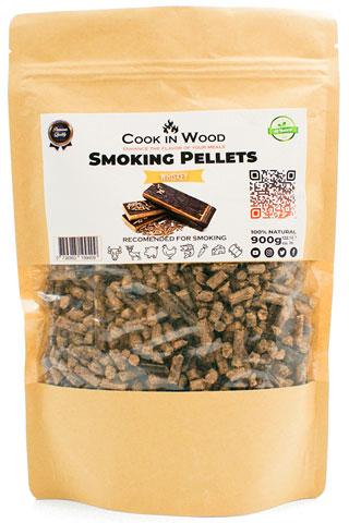 COOKINWOOD 900GR WHISKEY SMOKING PELLETS
