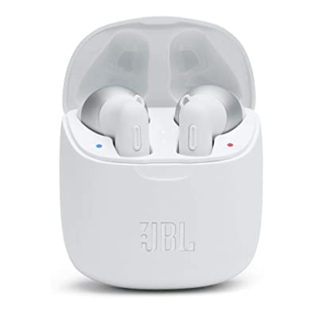 JBL Tune 225TWS True Wireless Bluetooth Earbud Headphones, White