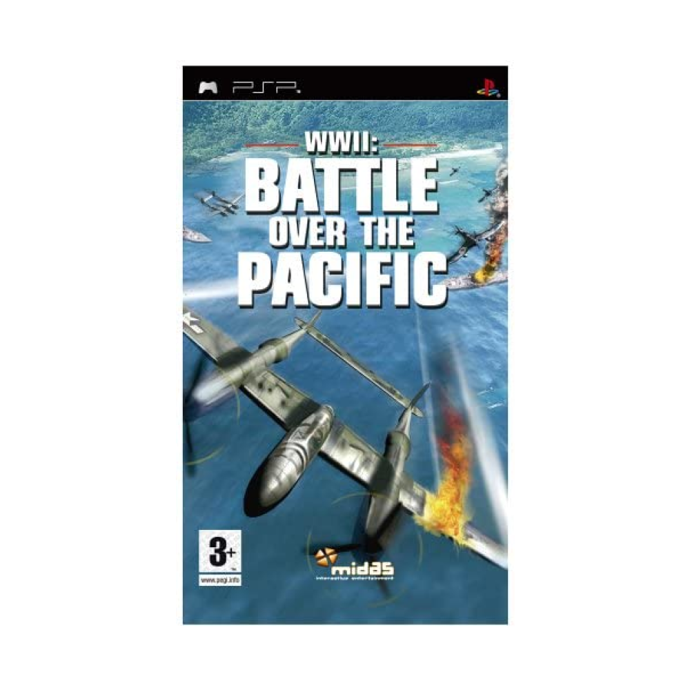 WWII: Battle over the Pacific - PSP