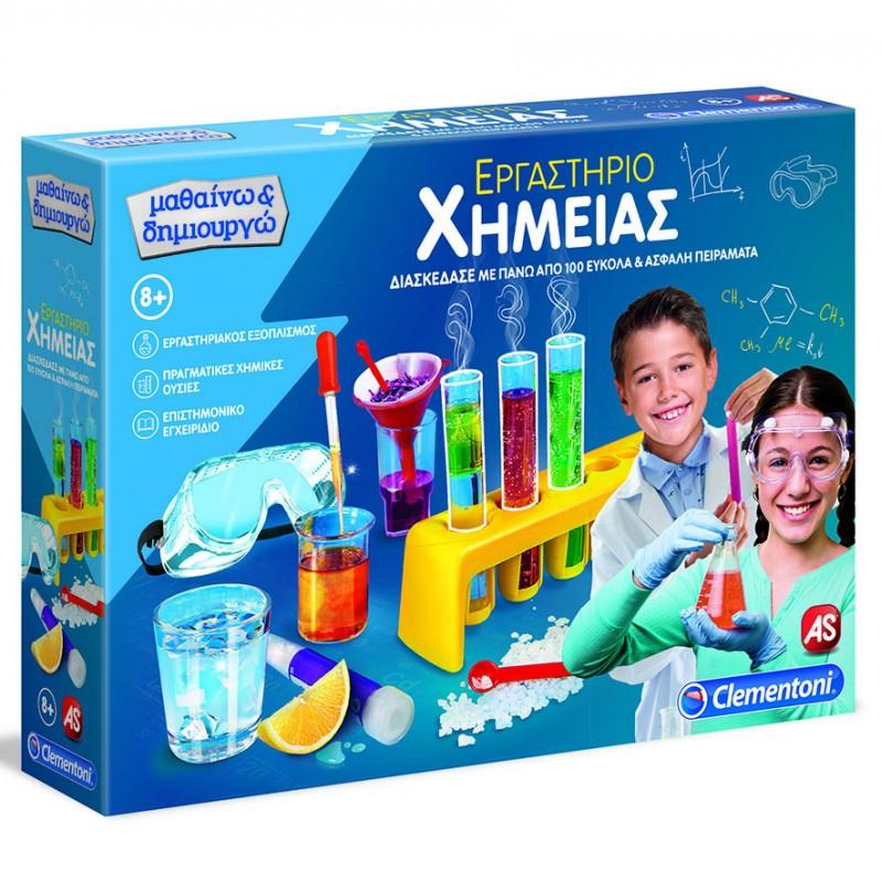 Clementoni Μαθαίνω Και Δημιουργώ - Εργαστήριο Χημείας 1026-63598