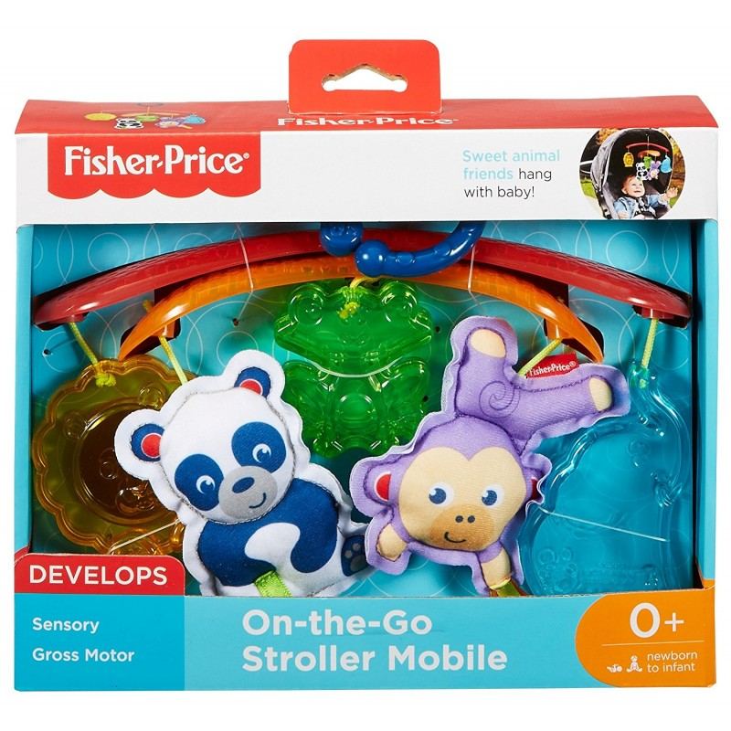 Fisher Price On-The-Go Stroller Mobile Toy