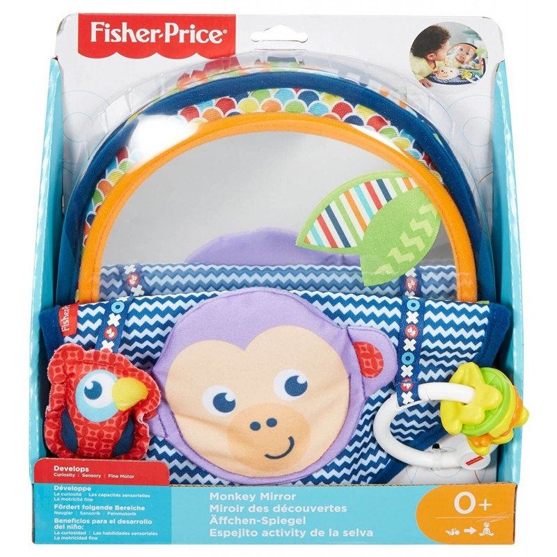 Fisher-Price Fisher Price Μαϊμουδάκι Με Καθρέφτη Και Υφές