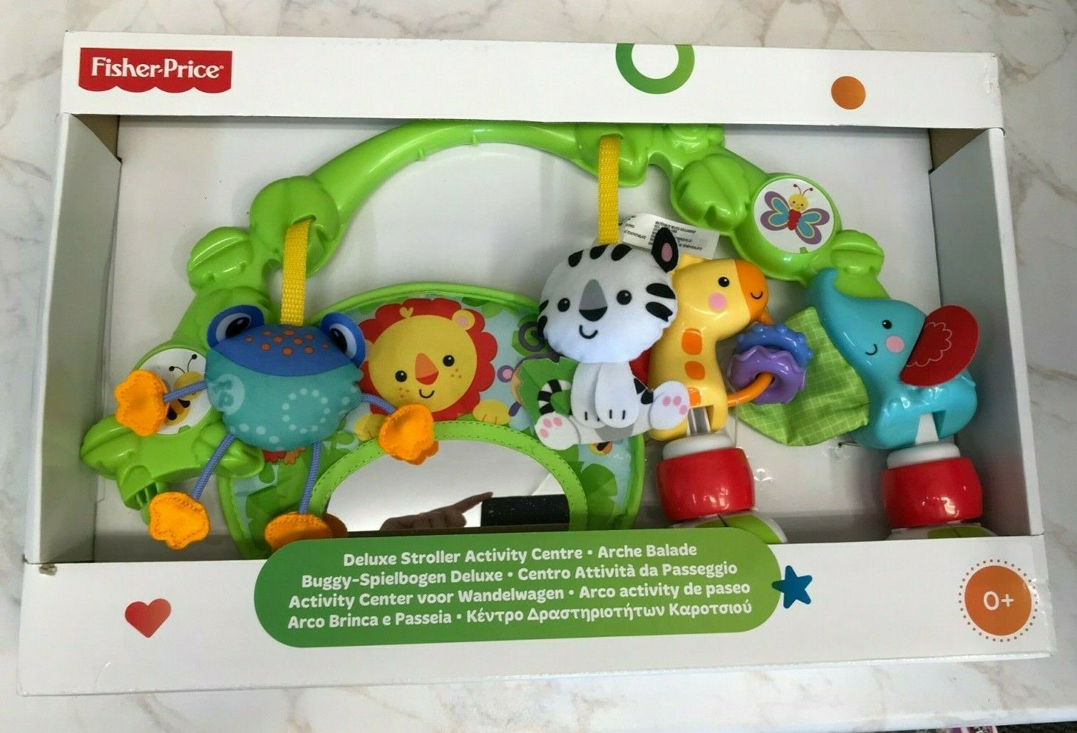 FISHER PRICE DELUXE STROLLER ACTIVITY CENTRE BHW57