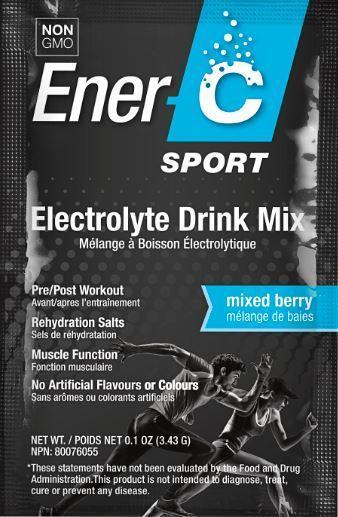 ENER-C ELECTROLYTE DRINK MIX 0.1 OZ