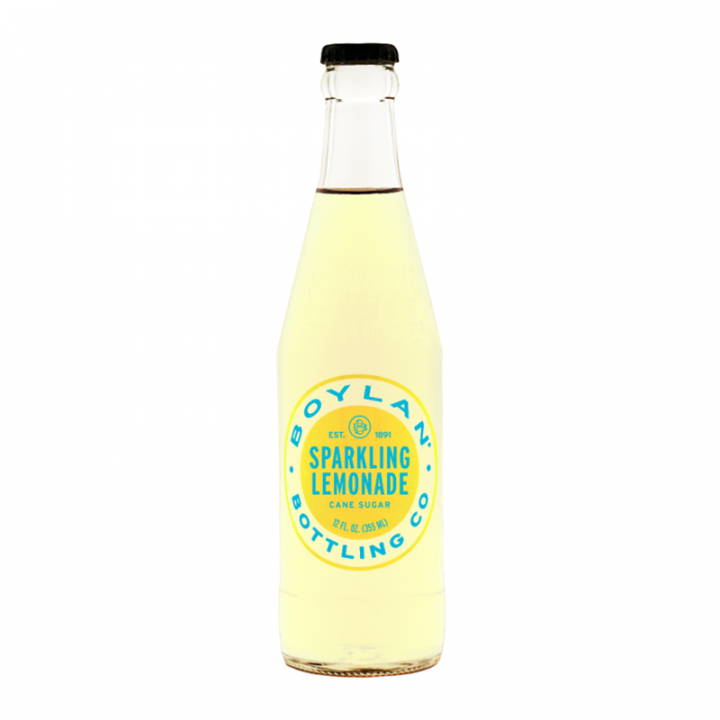 BOYLAN - SPARKLING LEMONADE CANE SUGAR 355ML
