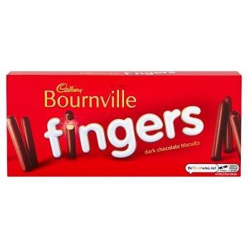 CADBURY - BOURNVILLE FINGERS 114G