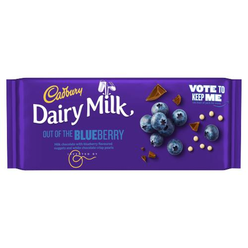 Cadbury Dairy Milk Inventor Out Of The Blueberry 105g