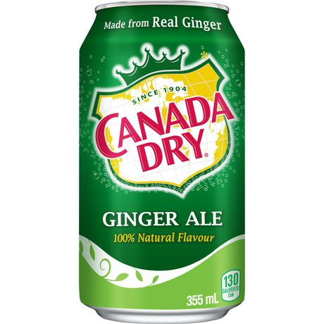 CANADA DRY - GINGER ALE 355ML