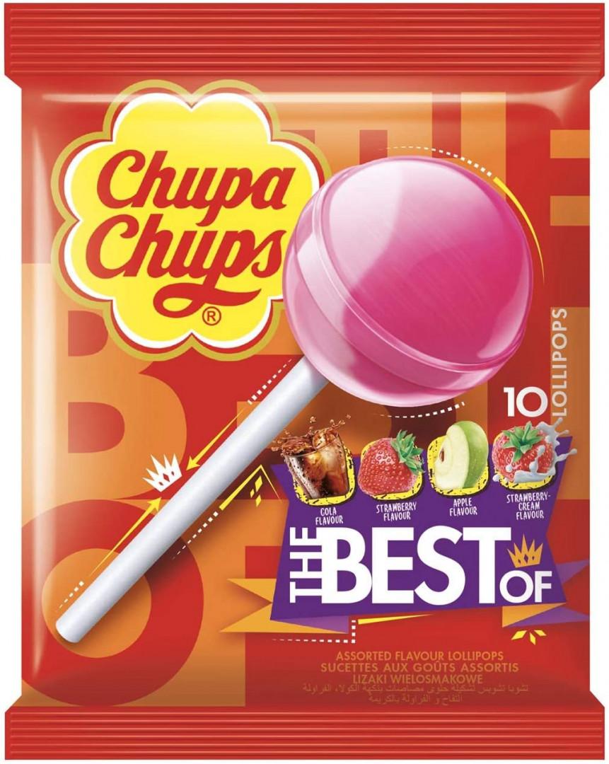 CHUPA CHUPS - THE BEST 12 LOLLIPOPS