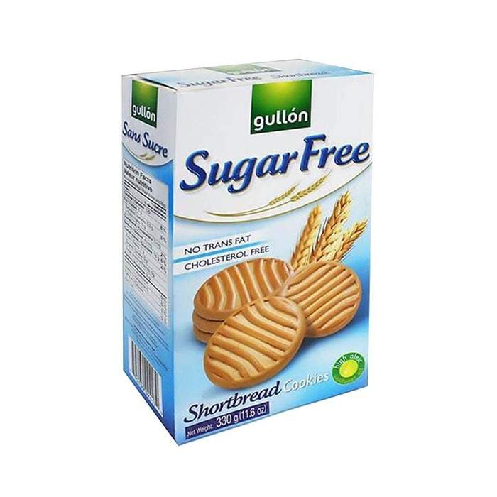 GULLON BISCOTTI - SHORTBREAD BISCUITS SUGAR FREE 330G