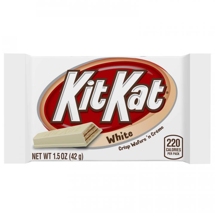 KIT KAT - WHITE 4 FINGERS 42G
