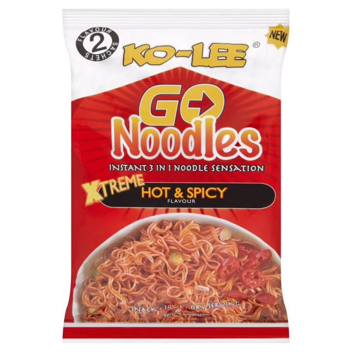 KO-LEE GO NOODLES - HOT & SPICY 85G