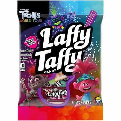 Laffy Taffy - Trolls Peg Bag 3.8oz 108g