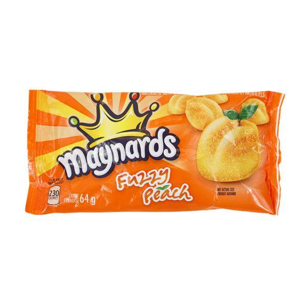 Maynards Fuzzy Peach 64g  [Canadian]