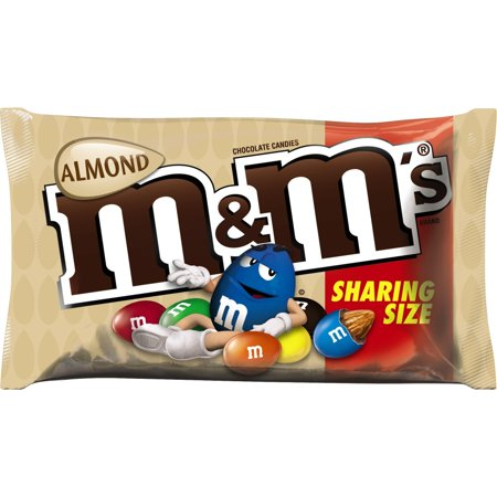 M&Ms - ALMOND SHARE SIZE