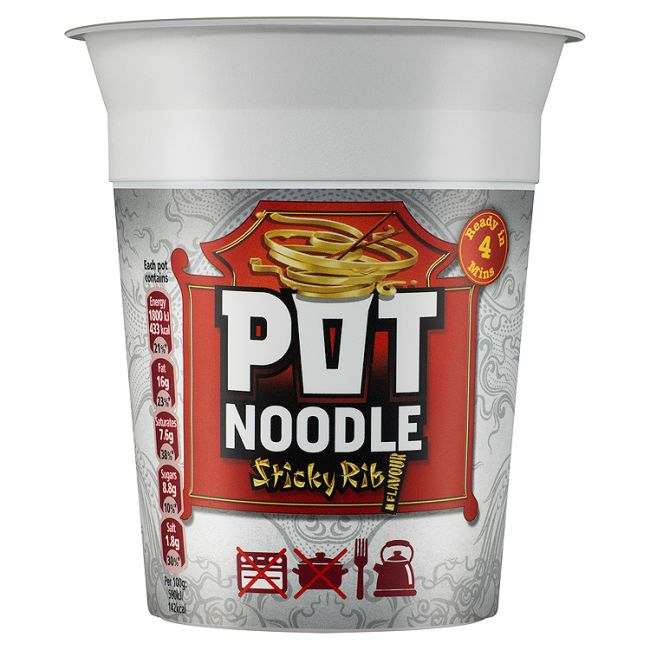 Pot Noodle Sticky Rib 90g