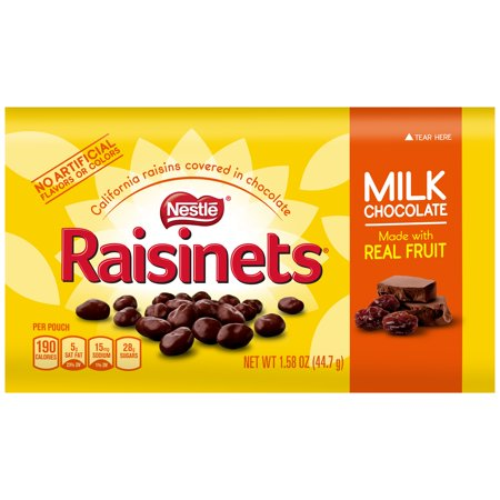 RAISINETS MILK CHOCOLATE 44.7G