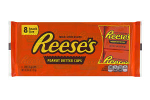 REESE'S PEANUT BUTTER CUPS PACK X8