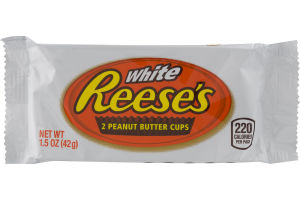 REESE'S WHITE  PEANUT BUTTER CUPS