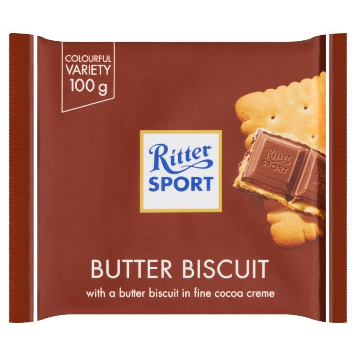 RITTER SPORT BISCUIT 100GR