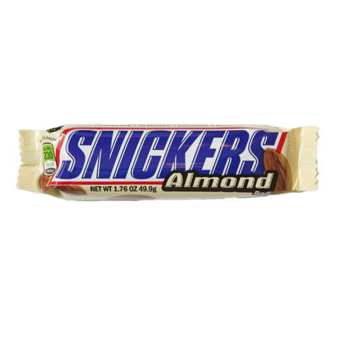 SNICKERS ALMOND 49.9G
