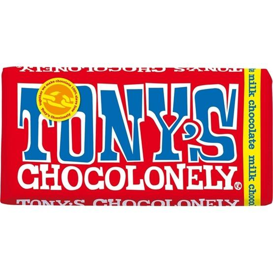 TONYS CHOCOLONELY 32 MILK CHOCOLATE 180G