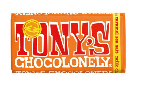 TONYS CHOCOLONELY  CARAMEL SEA SALT 180G